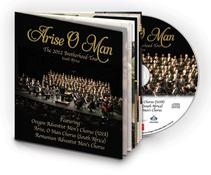 Arise O Man CD with 16-page booklet.